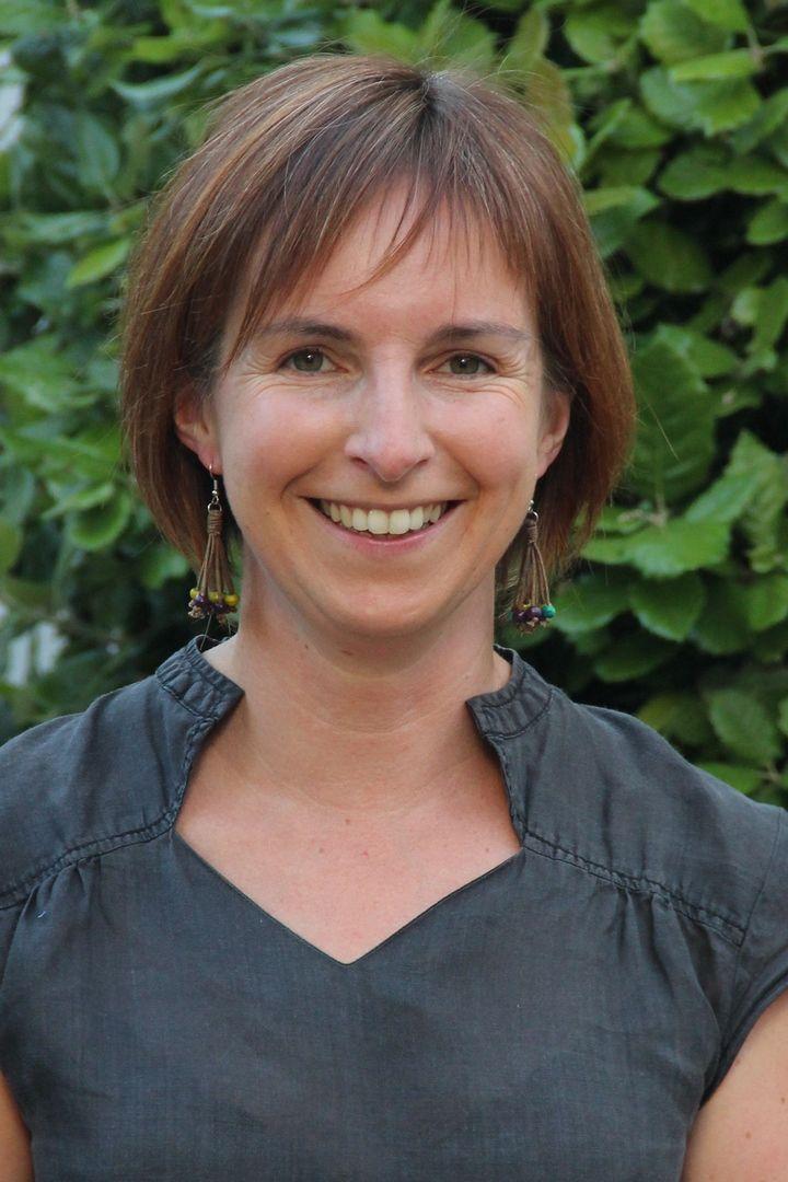 Cécile Gourdin, conseillère municipale déléguée à l'enfance et référente espaces verts