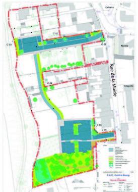 Projet de ZAC du centre-bourg